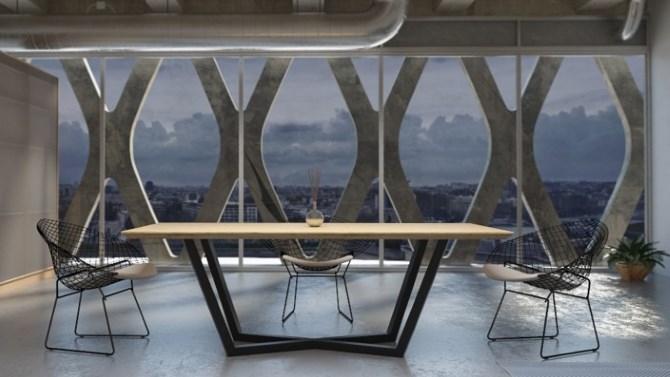 esstisch industrial online konfigurieren bei comnata esstisch. Black Bedroom Furniture Sets. Home Design Ideas