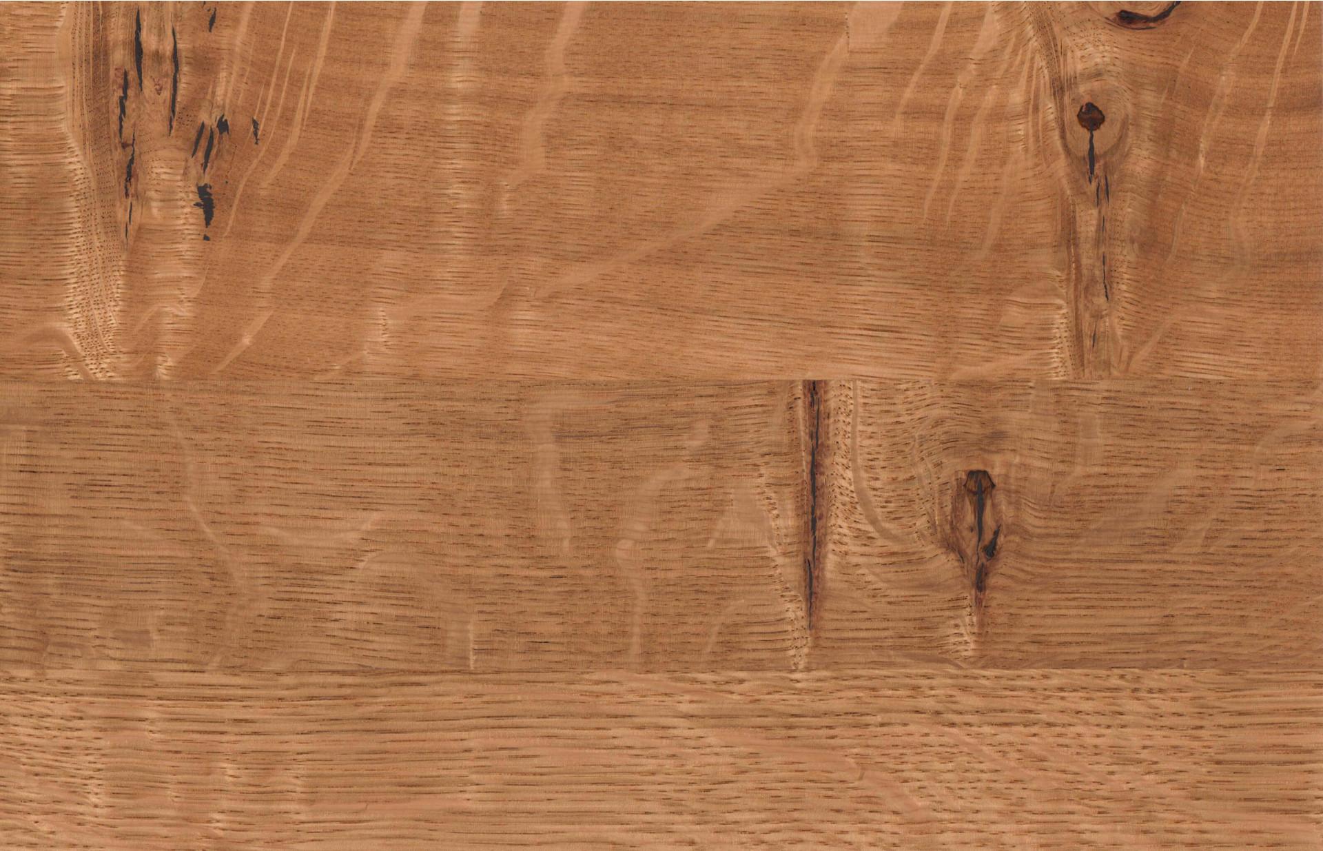 Holzmuster in Wildeiche natur geölt
