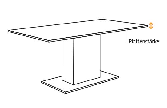 Esstisch Koloss Ein Moderner Säulentisch Nach Maß Von Comnata