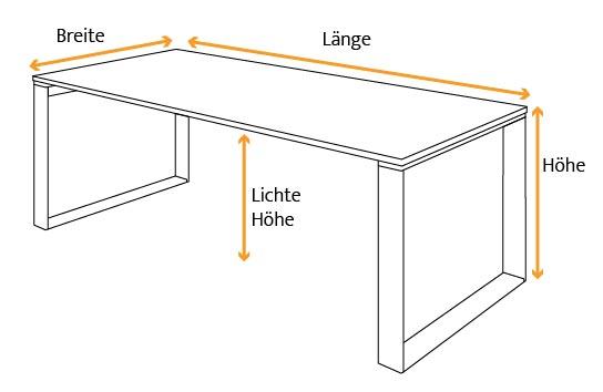 Tischmaße Esstisch Laholm