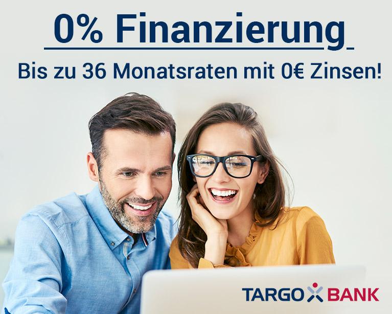Targo Bank 0 % Finanzierung