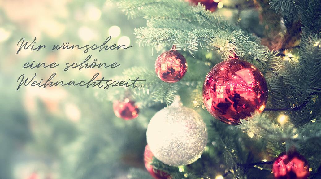 Eine schöne Weihnachtszeit 2019!